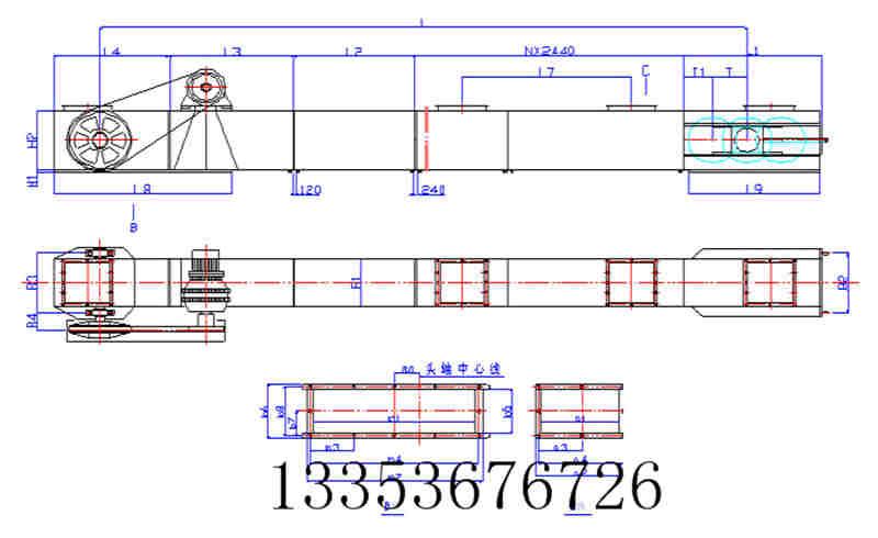 耐酸碱不锈钢刮板输送机-根据产品特点定制